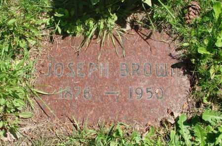 BROWN, JOSEPH - Marion County, Oregon | JOSEPH BROWN - Oregon Gravestone Photos