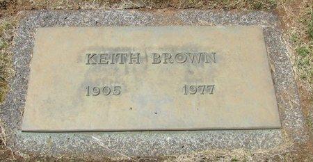 BROWN, KEITH FRANK - Marion County, Oregon | KEITH FRANK BROWN - Oregon Gravestone Photos