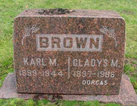 BROWN, GLADYS MABEL - Marion County, Oregon   GLADYS MABEL BROWN - Oregon Gravestone Photos