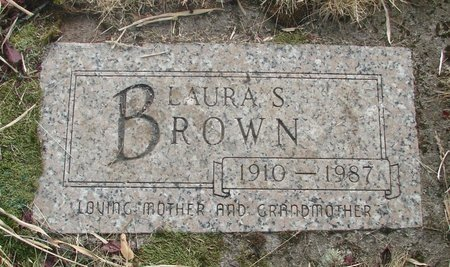 BROWN, LAURA S - Marion County, Oregon | LAURA S BROWN - Oregon Gravestone Photos