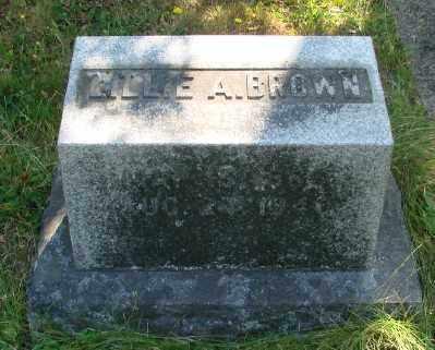 BROWN, LILLIAN A - Marion County, Oregon | LILLIAN A BROWN - Oregon Gravestone Photos