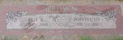 BROWN, DOROTHY LEE - Marion County, Oregon | DOROTHY LEE BROWN - Oregon Gravestone Photos