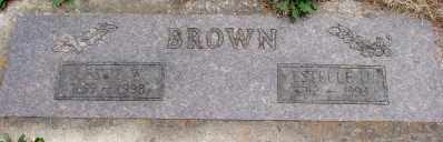 BROWN, LESLIE W - Marion County, Oregon | LESLIE W BROWN - Oregon Gravestone Photos