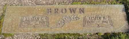 BROWN, LESTER - Marion County, Oregon | LESTER BROWN - Oregon Gravestone Photos