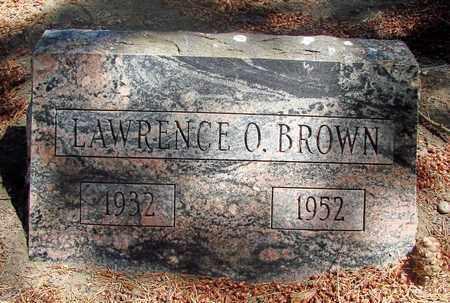 BROWN, LAWRENCE O - Marion County, Oregon | LAWRENCE O BROWN - Oregon Gravestone Photos