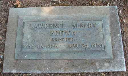 BROWN, LAWRENCE ALBERT - Marion County, Oregon | LAWRENCE ALBERT BROWN - Oregon Gravestone Photos