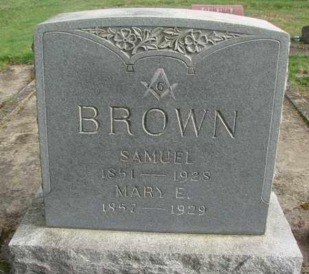 BROWN, MARY E - Marion County, Oregon | MARY E BROWN - Oregon Gravestone Photos