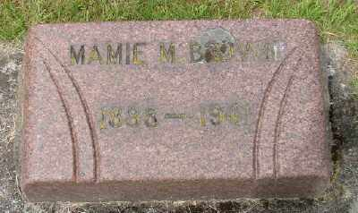 BROWN, MAMIE M - Marion County, Oregon   MAMIE M BROWN - Oregon Gravestone Photos