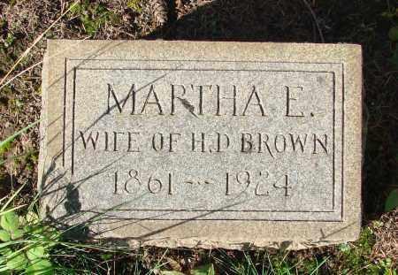 BROWN, MARTHA ELIZABETH - Marion County, Oregon | MARTHA ELIZABETH BROWN - Oregon Gravestone Photos