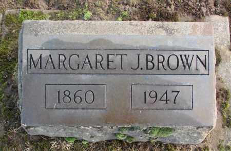 BROWN, MARGARET J - Marion County, Oregon | MARGARET J BROWN - Oregon Gravestone Photos