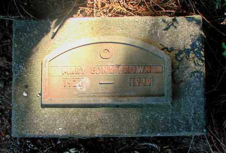 BROWN, MARY EDNA - Marion County, Oregon | MARY EDNA BROWN - Oregon Gravestone Photos
