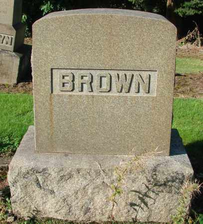 BROWN, HENRY DAVID - Marion County, Oregon | HENRY DAVID BROWN - Oregon Gravestone Photos