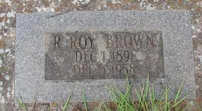 BROWN, R ROY - Marion County, Oregon | R ROY BROWN - Oregon Gravestone Photos