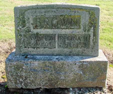 BROWN, SAMUEL B - Marion County, Oregon | SAMUEL B BROWN - Oregon Gravestone Photos