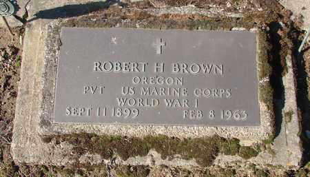 BROWN, ROBERT H - Marion County, Oregon | ROBERT H BROWN - Oregon Gravestone Photos