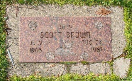 BROWN, SCOTT - Marion County, Oregon | SCOTT BROWN - Oregon Gravestone Photos