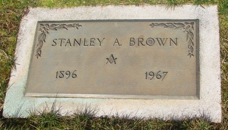 BROWN, STANLEY A - Marion County, Oregon   STANLEY A BROWN - Oregon Gravestone Photos