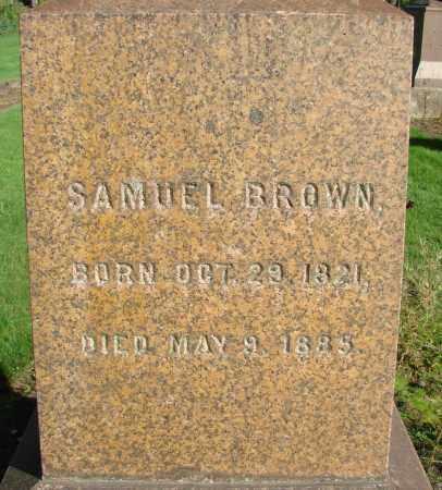 BROWN, SAMUEL - Marion County, Oregon | SAMUEL BROWN - Oregon Gravestone Photos