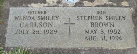 BROWN, STEPHEN SMILEY - Marion County, Oregon | STEPHEN SMILEY BROWN - Oregon Gravestone Photos