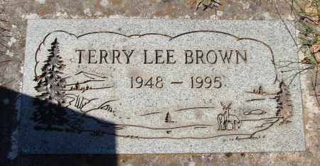 BROWN, TERRY LEE - Marion County, Oregon | TERRY LEE BROWN - Oregon Gravestone Photos