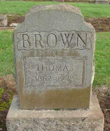 BROWN, THOMAS - Marion County, Oregon | THOMAS BROWN - Oregon Gravestone Photos