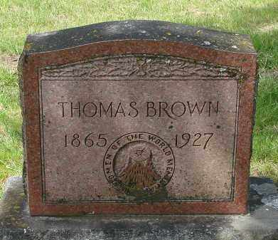 BROWN, THOMAS - Marion County, Oregon   THOMAS BROWN - Oregon Gravestone Photos
