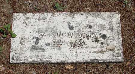 BROWN, UNKNOWN - Marion County, Oregon | UNKNOWN BROWN - Oregon Gravestone Photos