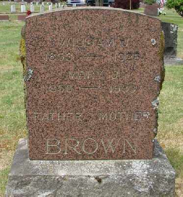 BROWN, MARY J - Marion County, Oregon | MARY J BROWN - Oregon Gravestone Photos