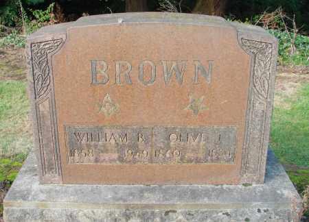 BROWN, WILLIAM BENJAMIN - Marion County, Oregon | WILLIAM BENJAMIN BROWN - Oregon Gravestone Photos