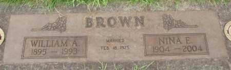 BROWN, NINA E - Marion County, Oregon | NINA E BROWN - Oregon Gravestone Photos