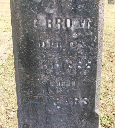 BROWN, W G - Marion County, Oregon   W G BROWN - Oregon Gravestone Photos