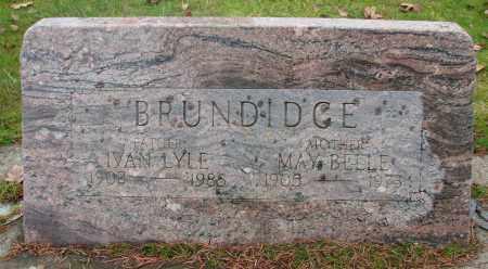 MURDICK BRUNDIDGE, MAY BELLE - Marion County, Oregon | MAY BELLE MURDICK BRUNDIDGE - Oregon Gravestone Photos