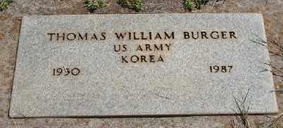 BURGER (KOR), THOMAS WILLIAM - Marion County, Oregon | THOMAS WILLIAM BURGER (KOR) - Oregon Gravestone Photos
