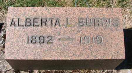 BURRIS, ALBERTA L - Marion County, Oregon | ALBERTA L BURRIS - Oregon Gravestone Photos
