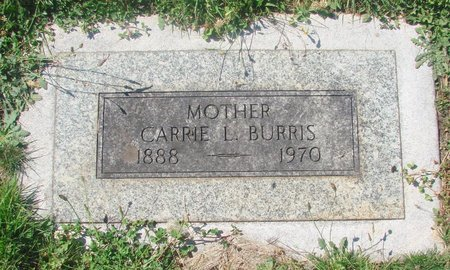 BURRIS, CARRIE L - Marion County, Oregon | CARRIE L BURRIS - Oregon Gravestone Photos