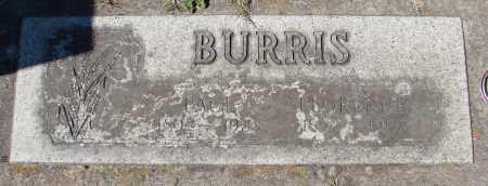 BURRIS, FLORENCE - Marion County, Oregon | FLORENCE BURRIS - Oregon Gravestone Photos