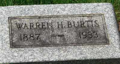 BURTIS, WARREN HENRY - Marion County, Oregon | WARREN HENRY BURTIS - Oregon Gravestone Photos