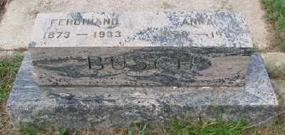 BUSCH, ANNA - Marion County, Oregon | ANNA BUSCH - Oregon Gravestone Photos