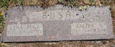 BUSH, WALTER WILLIAM - Marion County, Oregon | WALTER WILLIAM BUSH - Oregon Gravestone Photos