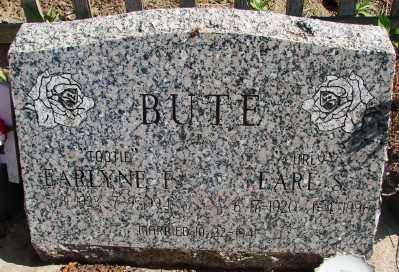 BUTE, EARLYNE F - Marion County, Oregon | EARLYNE F BUTE - Oregon Gravestone Photos