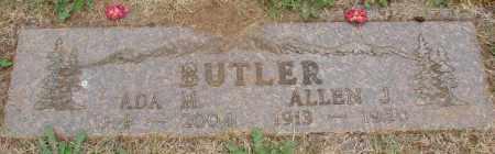BUTLER, ALLEN J - Marion County, Oregon | ALLEN J BUTLER - Oregon Gravestone Photos