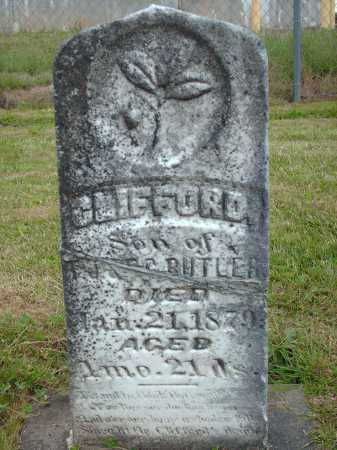 BUTLER, CLIFFORD - Marion County, Oregon | CLIFFORD BUTLER - Oregon Gravestone Photos