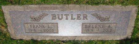 BUTLER, FRANK L - Marion County, Oregon   FRANK L BUTLER - Oregon Gravestone Photos