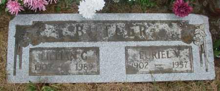 BUTLER, EURIEL V - Marion County, Oregon | EURIEL V BUTLER - Oregon Gravestone Photos