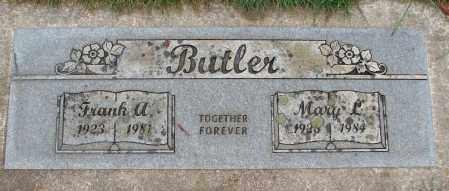 BUTLER, FRANK A - Marion County, Oregon | FRANK A BUTLER - Oregon Gravestone Photos