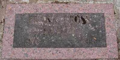 BUTLER, FRANK CROSS - Marion County, Oregon | FRANK CROSS BUTLER - Oregon Gravestone Photos