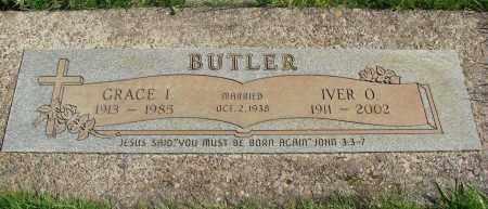BUTLER, GRACE I - Marion County, Oregon | GRACE I BUTLER - Oregon Gravestone Photos