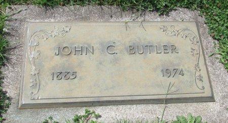 BUTLER, JOHN C - Marion County, Oregon   JOHN C BUTLER - Oregon Gravestone Photos