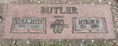 BUTLER, LEILA BELLE - Marion County, Oregon | LEILA BELLE BUTLER - Oregon Gravestone Photos
