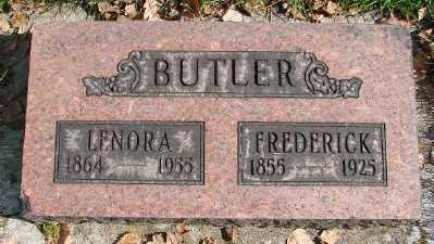 BUTLER, LENORA - Marion County, Oregon | LENORA BUTLER - Oregon Gravestone Photos